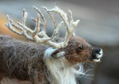 Needle felted animals. Needle Felted Reindeer. by darialvovsky, $172.00
