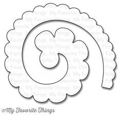 my favorite things rolled scalloped rose die-namics dies image search results Felt Flower Template, Felt Flower Tutorial, Leaf Template, Owl Templates, Crown Template, Applique Templates, Applique Patterns, Felt Flowers Patterns, Quilling Patterns