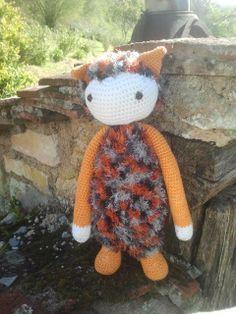 Cat / Tiger mod made by Siw K. / based on a lalylala crochet pattern
