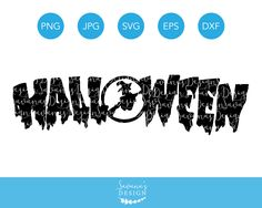 Halloween SVG Cut File in SVG, DXF, EPS, PNG, and JPG for Crafting on Cricut, Silhouette Cameo, Sizzix, ScanNCut, and other cutting machines.