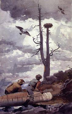 Winslow Homer - Osprey's Nest:  1902