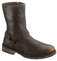 Harley-Davidson Men's Reid Motorcycle M US Riding Boots, Combat Boots, Harley Davidson Merchandise, Harley Davidson Shoes, Goodyear Welt, Motorcycle Boots, Brown Boots, Your Shoes, Discount Shoes
