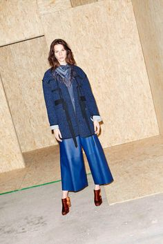 Derek Lam 10 Crosby - Fall 2015 Ready-to-Wear - Look 2 of 19