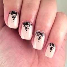 lace nail art ideas for 2016