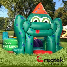 REATEK inflatables can be customised in design, size, colours, logo and more. Inflatable Slide, Bouncy Castle, Castles, Custom Design, Colours, Christmas Ornaments, Logo, Holiday Decor, Outdoor Decor