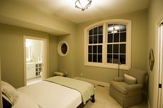 Simple, understated country style guest bedroom decor | Plan 013S-0010 | House Plans and More