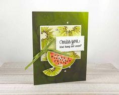 Wedding Cards Handmade, Handmade Birthday Cards, Funny Fruit, Stampin Up Paper Pumpkin, Happy Easter Bunny, Pun Card, Pumpkin Cards, Miss You Cards, Birthday Diy
