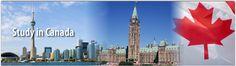 Study in Canada contact Sowrya Consultancy  www.sowrya.com