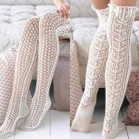 Lace Stockings [VKSS09_31] - via @Craftsy
