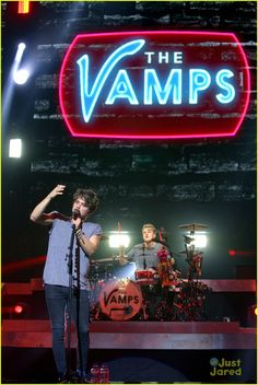 The Vamps Kick Off Tour In Glasgow