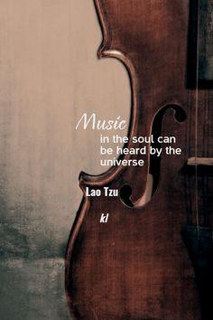 """Music in the soul can be heard by the universe"" - designed by YOU @PixTeller. https://pixteller.com/designs/pinterest-poster/lt-id203122?utm_content=buffer7e59e&utm_medium=social&utm_source=pinterest.com&utm_campaign=buffer"