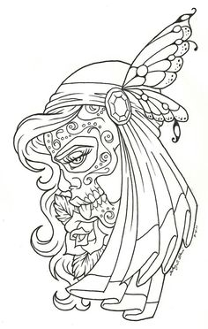 More tattoo flash...I recently started working back at the tattoo shop I started out at and in my down-time I've been playing around with new ideas...this was one result. Can't wait to embed this i...
