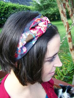 Sew Homegrown: {DIY} Anthropologie-inspired Headband