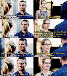 Arrow - Oliver and Felicity #3.1 #Season3 #Olicity ♥
