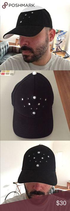 Gents hat. New. No tag. Never worn. Gents hat. Black with white dots. New. No tags. Never worn. Gents Accessories Hats