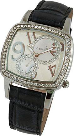 Le Chic silberne Damenuhr Le Chronograph CL 0639 S Le Chic http://www.amazon.de/dp/B009LEP8NU/ref=cm_sw_r_pi_dp_rIg9ub1RG75A9
