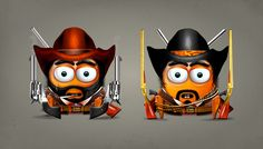 Snapzu - Characters by Diego Cáceres, via Behance
