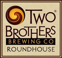 Two Brothers Brewing Company Aurora IL.  Love the outdoor atmoshere....stone fireplace, bar and music.