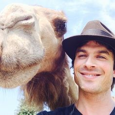 Ian Somerhalder - 02/08/14 - Saturday morning At @heiferinternational #beyondhunger #heiferranch wearing my ISF Tshirt and hanging with my new friend here. Strategizing the future and an amazing partnership(s) with The Ian Somerhalder Foundation. @heiferceo aka Pierre Ferrari you are so missed right now! See you in Atlanta tomorrow! This place is amazing! Great work-wow http://instagram.com/p/rM-kzcKJy7/?modal=true - Twitter / Instagram Pictures