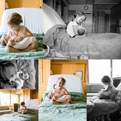 Inspiration | Sisters Newborn Fresh 48 Hospital | Brenda Anderson Photography