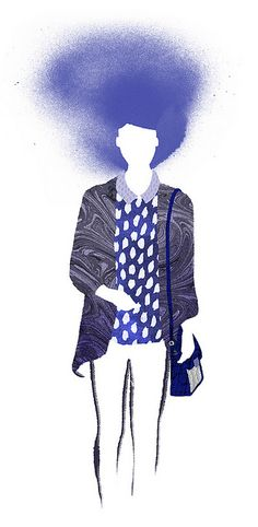 Feeling Blue by Little Doodles, via Flickr