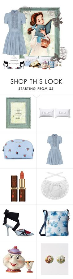 """A Girl and Her Books"" by autumnred ❤ liked on Polyvore featuring Belle Maison, John Lewis, Miu Miu, Ladurée, Christopher Kane, Harveys, Disney, belle, BeautyandtheBeast and disneycharacter"
