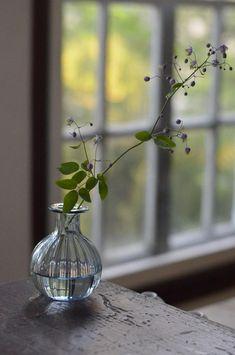 GRICE Vase - Hiroy Glass Studio ヒロイグラススタジオ「 門下生展 」 花岡央 : うつわノート