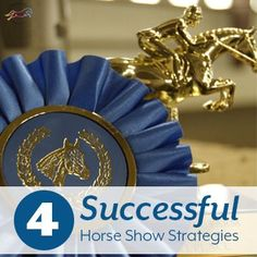 While each horse and rider requires a different approach to be most effective, here are my top four successful horse show strategies. Horseback Riding Tips, Show Horses, Equestrian, Pony, Success, Printables, Group, Lifestyle, Board