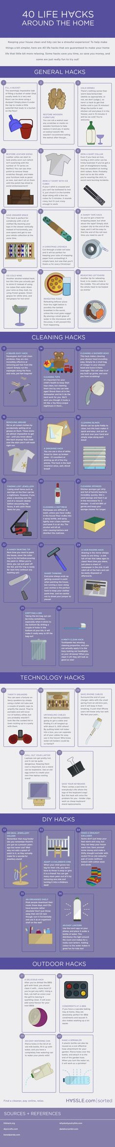Tips and hacks for the home