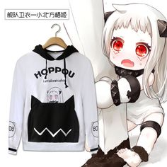 2016 New Fashion Anime Kantai Collection Hoody Autumn Spring Cotton Casual Hoodies Hot Sale