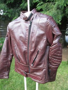 vintage 80's women's padded oxblood Spartan by Simplemiles on Etsy, $85.00