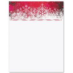 Frosted Ornaments Letter Paper  Rzeczy Do Kupienia