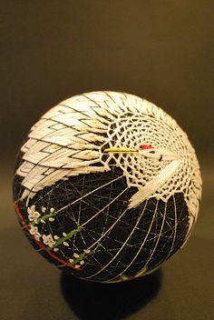 Beautiful temari ball - May2009_414 by NanaAkua, via Flickr