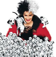 Glenn Close as Cruella De Vil - 101 Dalmatians The Movie 101 Dalmatians Movie, Cruella Deville, Glenn Close, Tv Series Online, Party Service, Disney And More, The Visitors, Streaming Movies, Hd 1080p