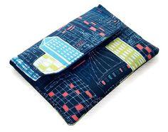 Ipad Mini Envelope Sleeve  London City Scene by WhimsyWooDesigns