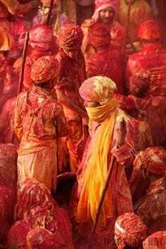 holi, nandgaon, india #hindu