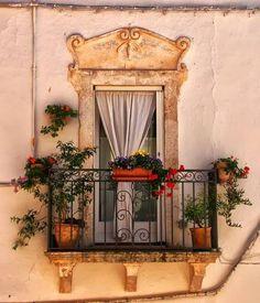 Ancient Balcony, Apulia, Italy