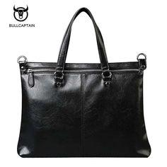 19.89$  Buy now - http://alih2x.shopchina.info/1/go.php?t=32808074235 - Bullcaptain 2017 Men Casual Briefcase Business Shoulder Bag Leather Messenger Bags Computer Laptop Handbag Bag Men's Travel Bags  #buymethat