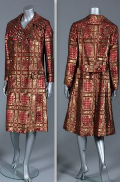 1960s Christian Dior boutique coat, late 1960s