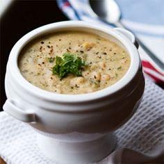 Vegan Senate Bean Soup for Two