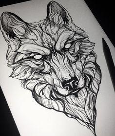___________________________________ - New Tattoo - Tattoo-Ideen Wolf Tattoos, Hand Tattoos, Tattoo Shirts, Body Art Tattoos, Star Tattoos, Tattoo Bicep, Wolf Tattoo Sleeve, Sleeve Tattoos, Wolf Tattoo Design