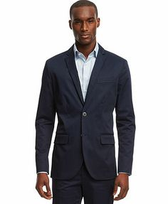 Kenneth Cole Reaction Two-Button Stretch Blazer
