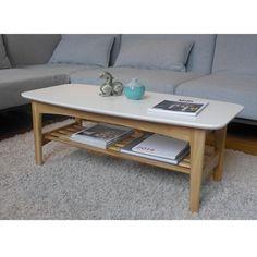 Table basse 2 plateaux bois Enok DRAWER La Redoute - 156.45€