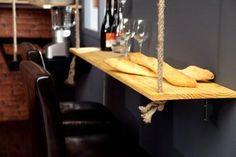 DIY Bar suspendu @Philippe Clairo Clairo Clairo Cohen #cuisine #NewYork  #tevadeco