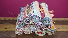 50 Mini-serviettes pour buffet mariage, anniversaire, fêtes, apéro, zéro déchet, à partir de 50 pièces : Cuisine et service de table par bila-touchatou