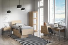 Aria Collection - Sleek, up-to-the-minute design that brings a breath of fresh air to any bedroom - Foliot Furniture