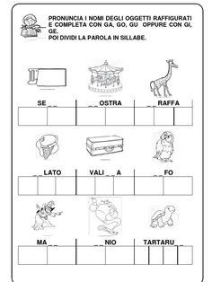 Scheda didattica per imparare l 39 apostrofo schede didattiche pinterest pinocchio for Parole con gi