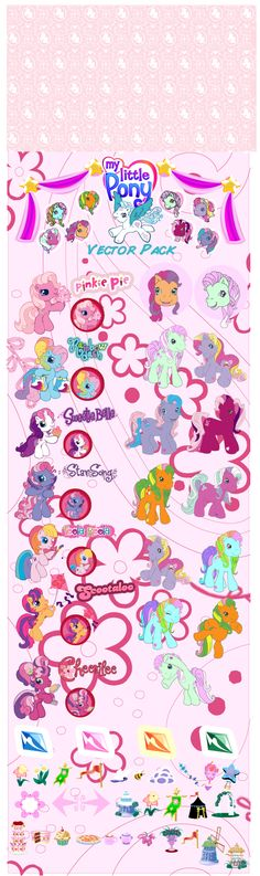 free vector My little pony cartoon clip art graphic available for free download at 4vector.com. Check out our collection of more than 180k free vector graphics for your designs. #design #freebies #vector #floral