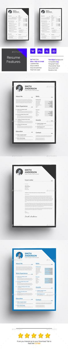 Resume Word Resume words, Cv template and Modern resume template - how to make resume on word