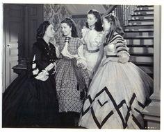 Ellen O'Hara talks with her three daughters, Careen, Scarlett, and Suellen.